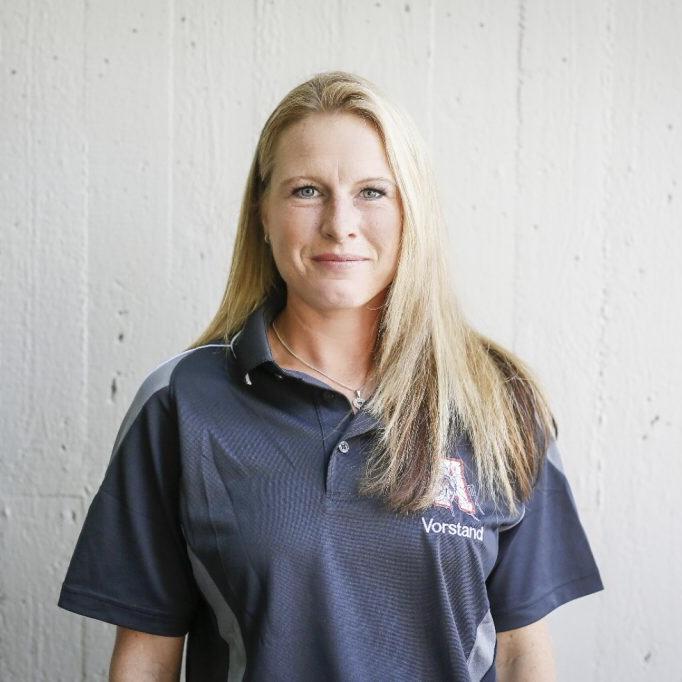 Nadine Edenharder, Abteilungsleitung Cheerleader