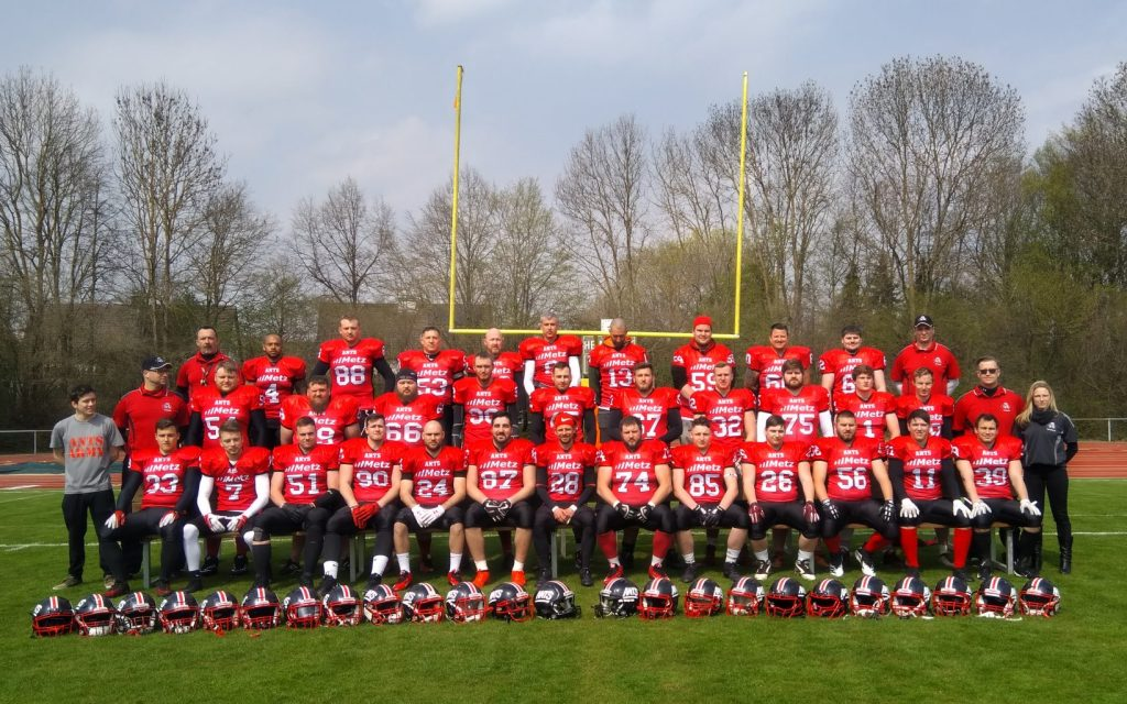 Königsbrunn Ants e.V Seniors 2019 Teamfoto