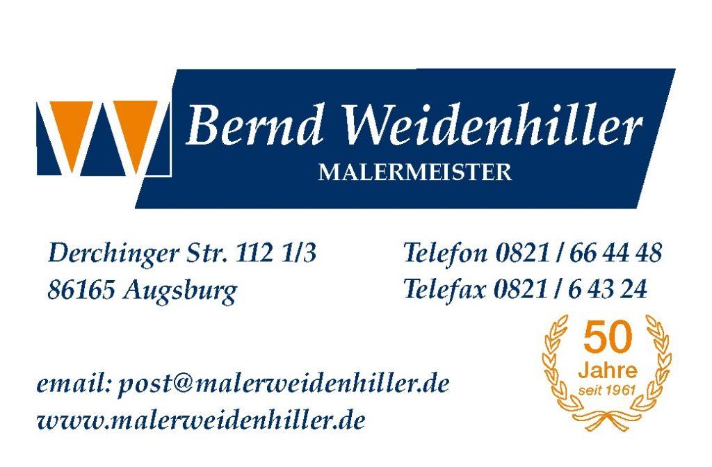 Bernd Weidenhiller Malermeister