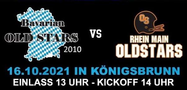 Bavarian Old Stars vs. Rhein Main Old Stars